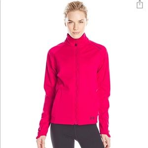 Under Armour Pink Workout Zip Jacket